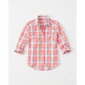 girls Long-Sleeve Shirt | girls clearance | Abercrombie.com