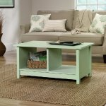 Sauder Original Cottage Coffee Table, Rainwater Finish