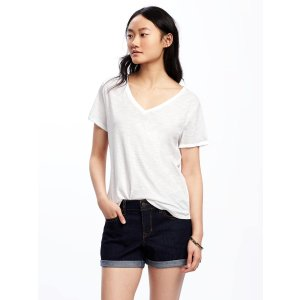 EveryWear Slub-Knit Tee for Women | Old Navy