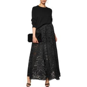 Lace maxi skirt | Maje