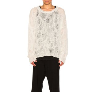 Ann Demeulemeester Sweater in Off White