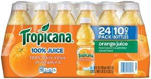 $9.5Tropicana 橙汁 296ml 24瓶装