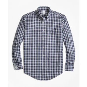Non-Iron Regent Fit MacLeod Tartan Sport Shirt - Brooks Brothers