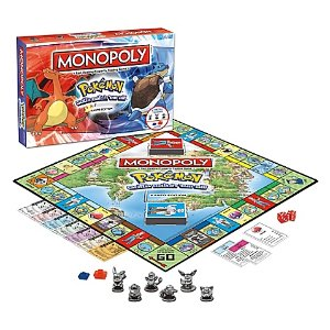 Monopoly® Pokémon Kanto Edition Board Game