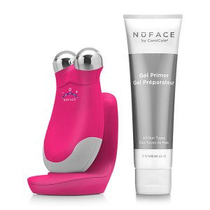 NuFACE Deep Pink Refreshed Trinity Facial Trainer & Gel Primer