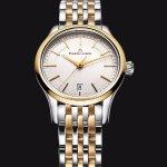 MAURICE LACROIX Les Classiques Date Silver Dial Two-tone Ladies Quartz Watch
