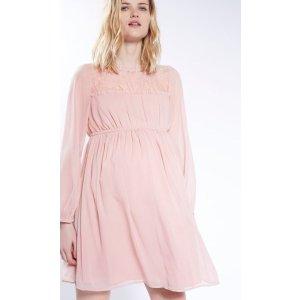 MATERNITY Lace Smock Dress