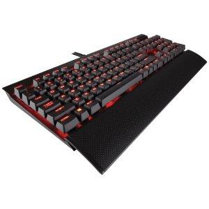 Corsair 海盗船CH-9101021-NA Gaming K70 青轴机械游戏键盘红色背光