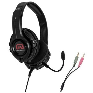 GamesterGear Cruiser PC200-B PC Stereo Gaming Headset w/ Mic