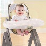 Summer Infant成长型曲木婴儿高脚餐椅