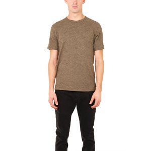 Rag & Bone Tweed Long Sleeve Tee | Blue&Cream