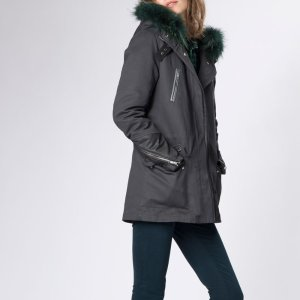 GAFETY Cotton parka - Coats & Jackets - Maje.com