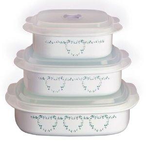 Corelle® Coordinates® Country Cottage 6-pc Microwave Set