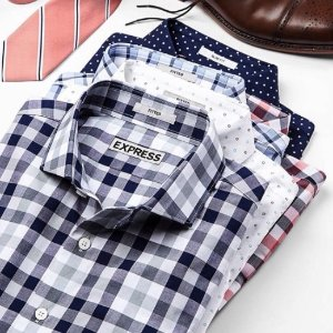 Extra 50% offToday Only: Express Men's Suit Collection