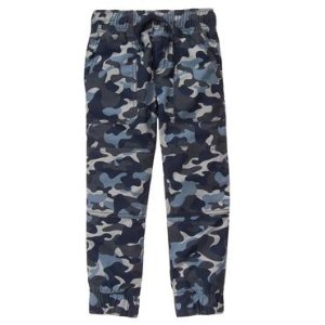 Boys Slate Camo The Gymster� Pant by Gymboree