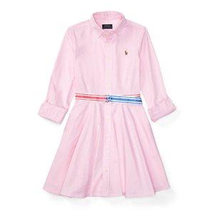 Cotton Oxford Shirtdress - Dresses & Rompers � Girls' 7-16 - RalphLauren.com
