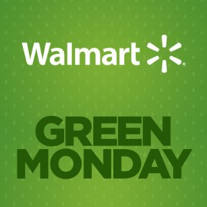 Up to 70% offGreen Monday Sale @ Walmart