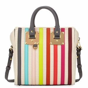 Sophie Hulme Cromwell Square Canvas Tote Bag, Multi