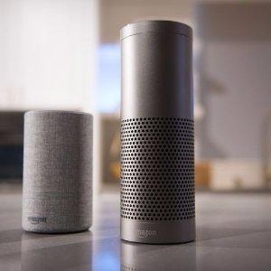$119.99黒五价:Amazon Echo Plus 智能语音管家集成HUB功能