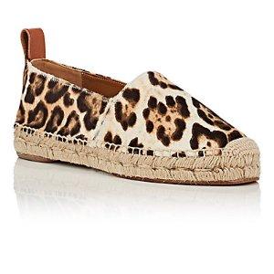 Chloé Leopard-Print Haircalf Espadrilles | Barneys Warehouse