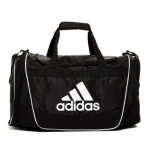 adidas Defender II Duffel Bag, Medium, Black