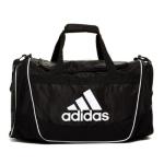 adidas Defender II Duffel Bag, Medium, Black