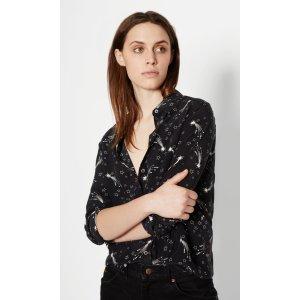Women's KATE MOSS REESE SILK SHIRT made of Silk | Women's Kate Moss by Equipment