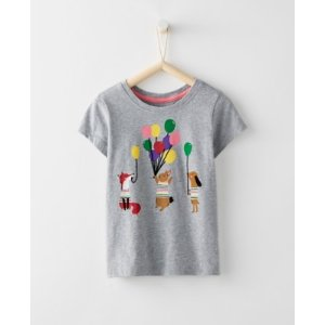 Girls Art Tee In Supersoft Jersey from Hanna Andersson