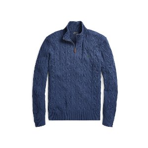 Cable-Knit Tussah Silk Sweater
