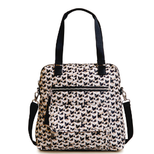 Camryn Printed Laptop Handbag - Optic Beige Multi | Kipling