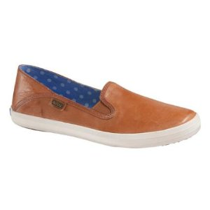 Womens Keds Crashback Leather Loafer - FREE Shipping & Exchanges