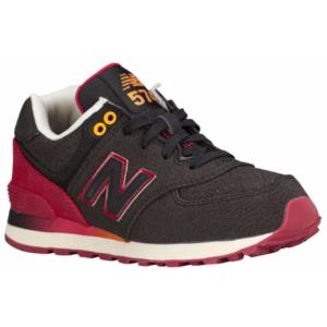 New Balance 574 - Boys' Preschool - Running - Shoes - Black/Red
