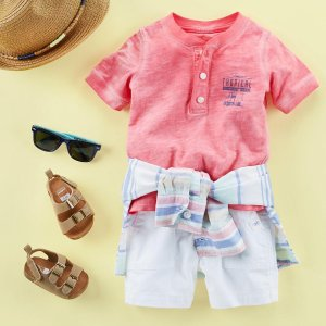 70% Off + Extra 20% Off $40Select Summer Styles @ Carter's