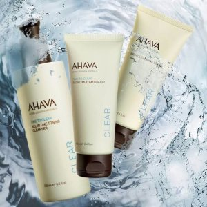 Free Full Size Bath Saltswith Any Purchase over $75 @ AHAVA
