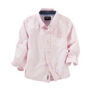 Toddler Boy Striped Button-Front Shirt | OshKosh.com