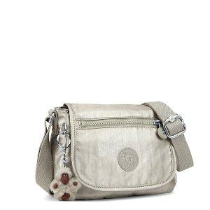 Sabian Metallic Mini Bag - Silver Beige | Kipling