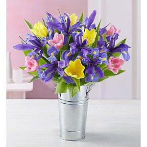 Tulip & Iris Bouquet