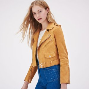 BERIL Suede leather jacket