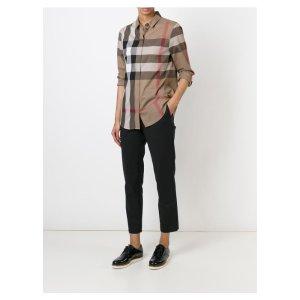 Burberry Check Cotton Shirt | Tessabit shop online