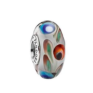 Rue La La — PANDORA Silver Murano Glass Charm