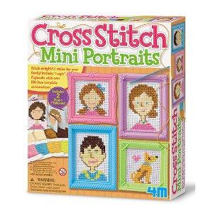 4M Cross Stitch Mini Portraits Craft Set | zulily