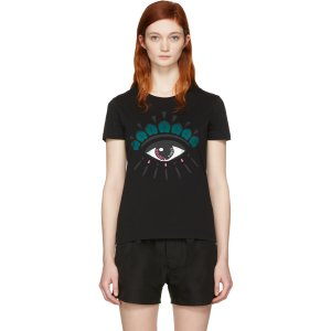 Kenzo: Black Eye T-Shirt | SSENSE
