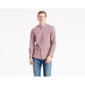 Sunset One Pocket Shirt | Mentha Cherry Bomb Plaid |Levi's® United States (US)