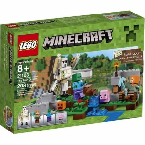 LEGO Minecraft The Iron Golem, 21123 - Walmart.com