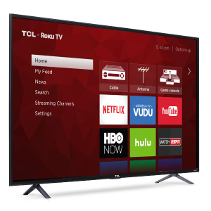 "TCL 55"" Class 4K (2160P) HDR Roku Smart LED TV (55S401) - Walmart.com"