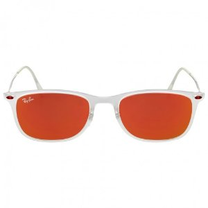 Ray-Ban New Wayfarer Light Ray Red Mirror Sunglasses - Wayfarer - Ray-Ban - Sunglasses - Jomashop