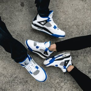 AIR JORDAN RETRO 4 'MOTORSPORT'with FREE SHIPPING on March 25th @ FinishLine.com