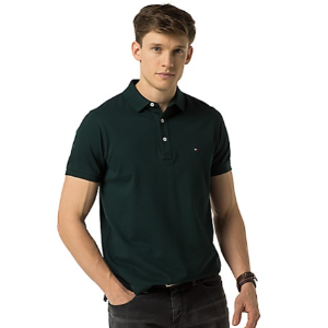 SLIM FIT LUXURY PIQUE POLO 			 			MW02110