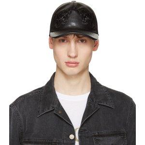 Gucci: Black Tiger Baseball Cap