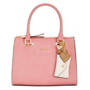 Calvin Klein Mercury Medium Satchel - Calvin Klein - Handbags & Accessories - Macy's